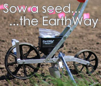 The Earthway Precision Seeder. The best way to seed your smallholding or allotment.